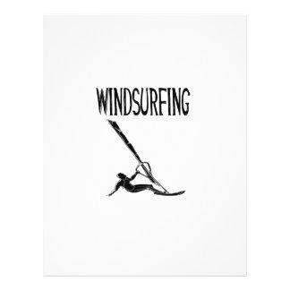 vindsurfar den svart textsporten för surfingen v3 reklamblad
