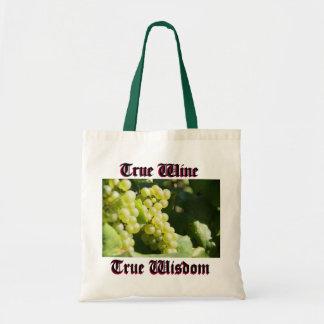 Vines för vin tygkasse