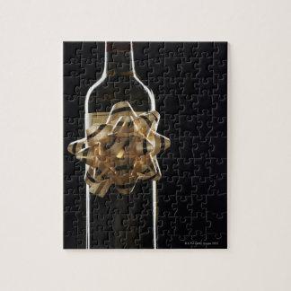 Vinflaska med pilbågen pussel