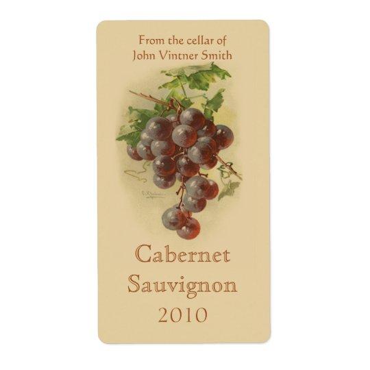 Vinflaskaetikett Fraktsedel