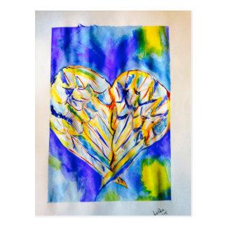 Vingar av kärlek vykort