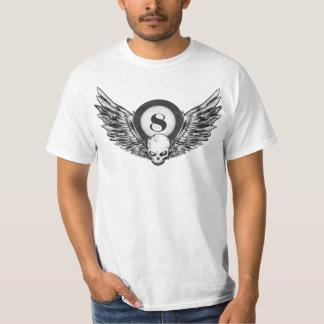 vingar för skalle 8_ball t shirt