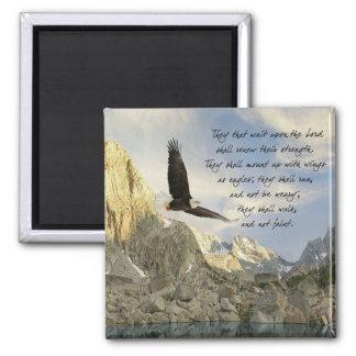Vingar som den örnIsaiah 40:31 Magnet
