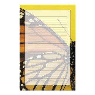 Vinge av en fjäril brevpapper