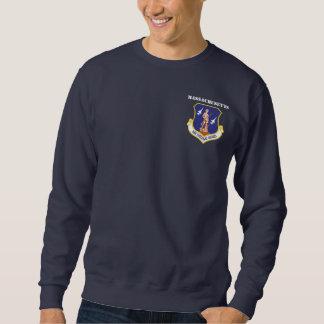 Vinge för kämpe för Massachusetts luftvakt 104. Lång Ärmad Tröja