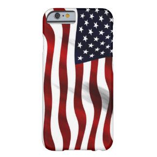 Vinka amerikanska flaggan barely there iPhone 6 fodral