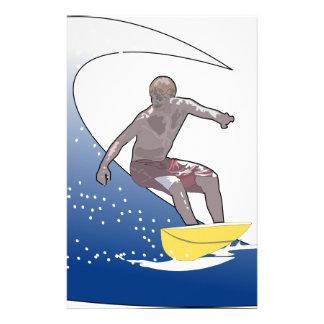 Vinka att surfa brevpapper