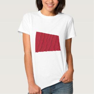 Vinka flagga av Alabama de röda roversna Tee Shirt
