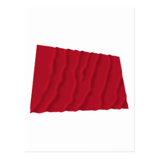 Vinka flagga av Alabama de röda roversna Vykort