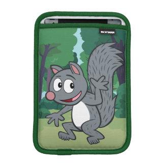 Vinka för ekorre för grått för skogsvaktarestack | iPad mini sleeve