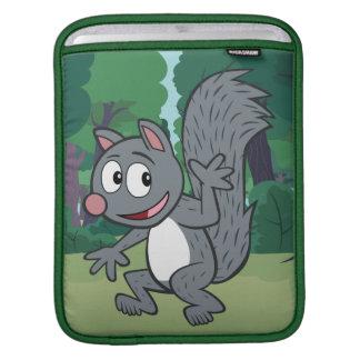 Vinka för ekorre för grått för skogsvaktarestack | sleeve för iPads