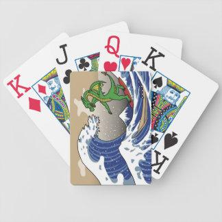 Vinka leka kort spelkort