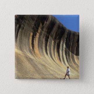 Vinka sten, westerna Australien Standard Kanpp Fyrkantig 5.1 Cm