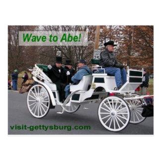 Vinka till Abe Lincoln Vykort