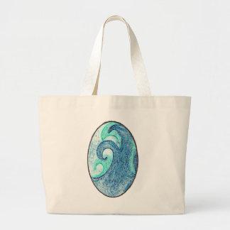 Vinkar Cameo för hav Tote Bags
