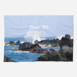 Vinkar på den Maui kusten Handhandukar