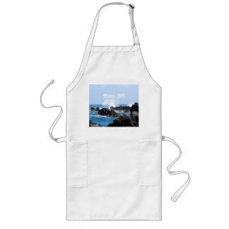 Vinkar på den Maui kusten Långt Förkläde
