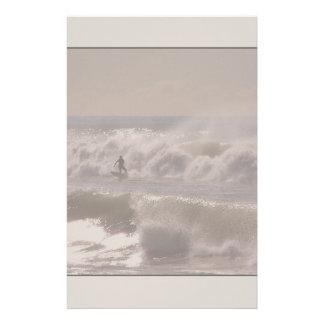 Vinkar surfarebrevpapper för storm brevpapper