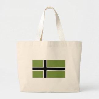 Vinland flagga - jumbototot hänger lös tote bags