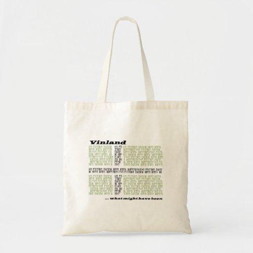 Vinland Runic flagga Tote Bags