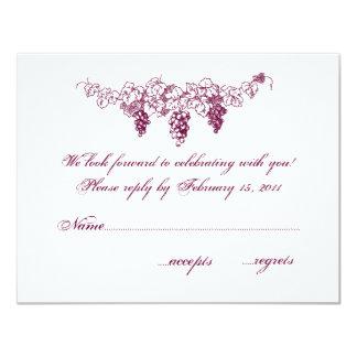 VinlandsbyggsbröllopOSA 10,8 X 14 Cm Inbjudningskort