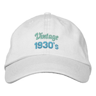 VINTAGE30-tallock Hatt
