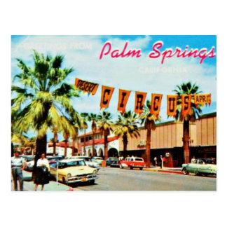 Vintage50-talPalm Spring vykort