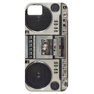 Vintage80-tal Boombox Ghettoblaster iPhone 5 Case-Mate Skydd