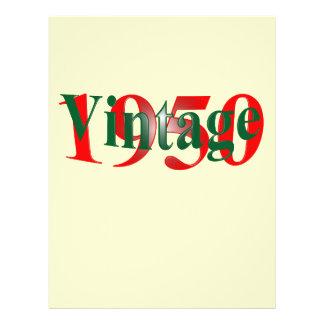 Vintage 1950 reklamblad
