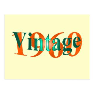 Vintage 1960 vykort