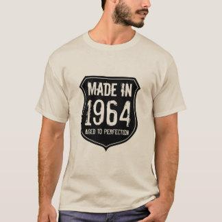 Vintage 1964 åldrades till den för manar skjortan tee shirt