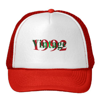 Vintage 1992 mesh kepsar