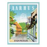 Vintage Aarhus Danmark Vykort