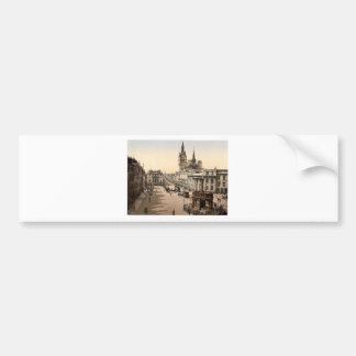 Vintage Aberdeen - facklig gata Bildekal