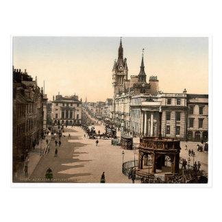 Vintage Aberdeen - facklig gata Vykort