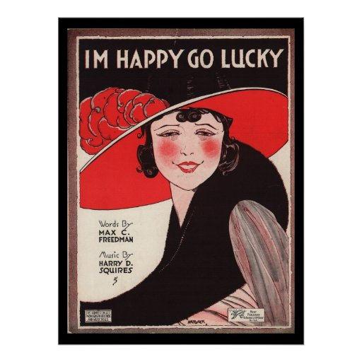 Vintage affisch