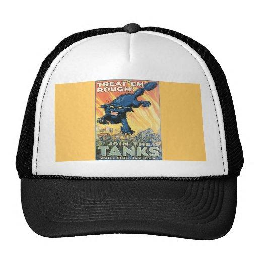 Vintage affisch trucker keps