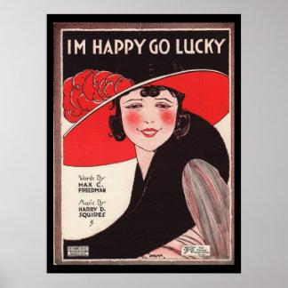 Vintage affisch poster
