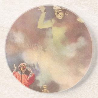 Vintage Aladdin och ande i arabiska sagor av Underlägg Sandsten