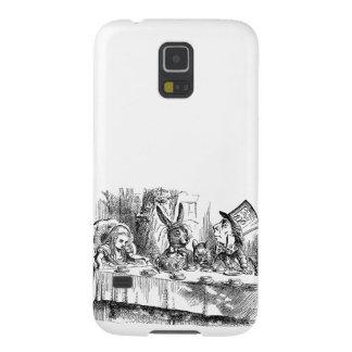 Vintage Alice i för Hattertea för underland tokigt Galaxy S5 Fodral