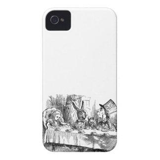 Vintage Alice i för Hattertea för underland tokigt iPhone 4 Case-Mate Skydd