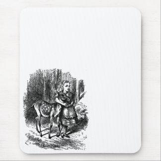 Vintage Alice i underlandhjort lismar bambitrycket Musmatta