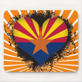 Vintage älskar jag Arizona Musmatta