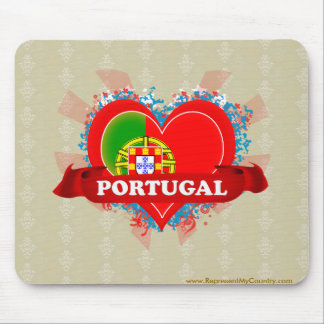 Vintage älskar jag Portugal Musmatta