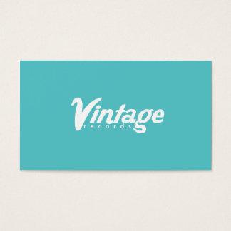 Vintage antecknar visitkortar visitkort
