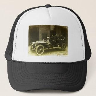 Vintage avfyrar lastbilen truckerkeps