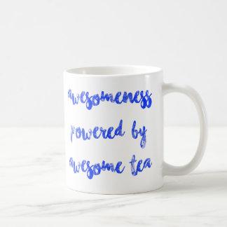 Vintage Awesomeness som drivas av enorm Tea Kaffemugg