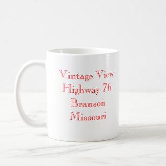 Vintage beskådar Branson Missouri Kaffemugg