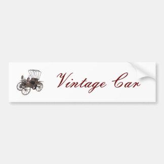 Vintage car bildekal