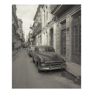 Vintage car fotokonst